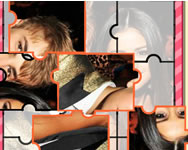 Justin Bieber and Selena Gomez puzzle online j�t�k